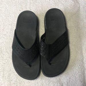 FitFlop flip flops. Size 6